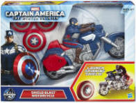 Captain America Motorcycle Toy