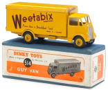 Old Dinky Toys Delivery Truck with Weetabix Advertising