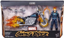 Toy Ghost Rider Flaming Chopper
