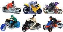 Hot Wheels Toy Motorcycles