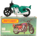 Vintage Matchbox Motorcycle