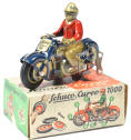 Rare Schuco Tin Motorcycle
