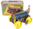 Toy Caterpillar Tractor with Box